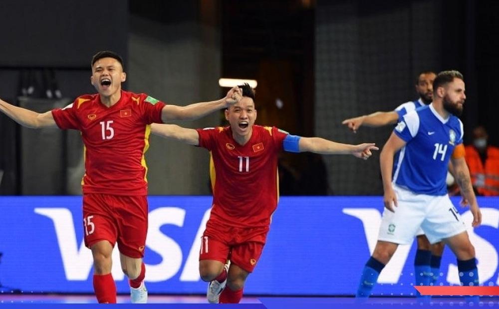 Báo Brazil phân tích bàn thắng đầu tiên của ĐT Việt Nam tại World Cup 2021