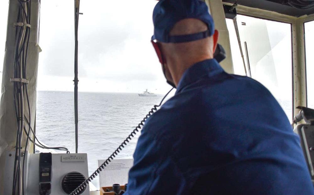 4 tàu chiến Trung Quốc đi vào vùng đặc quyền kinh tế của Mỹ ngoài khơi Alaska