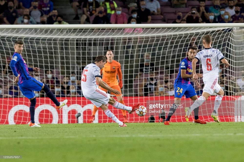 Tái lập con số kinh hoàng, Barcelona phiên bản không Messi thua thảm dưới tay Bayern Munich - Ảnh 1.