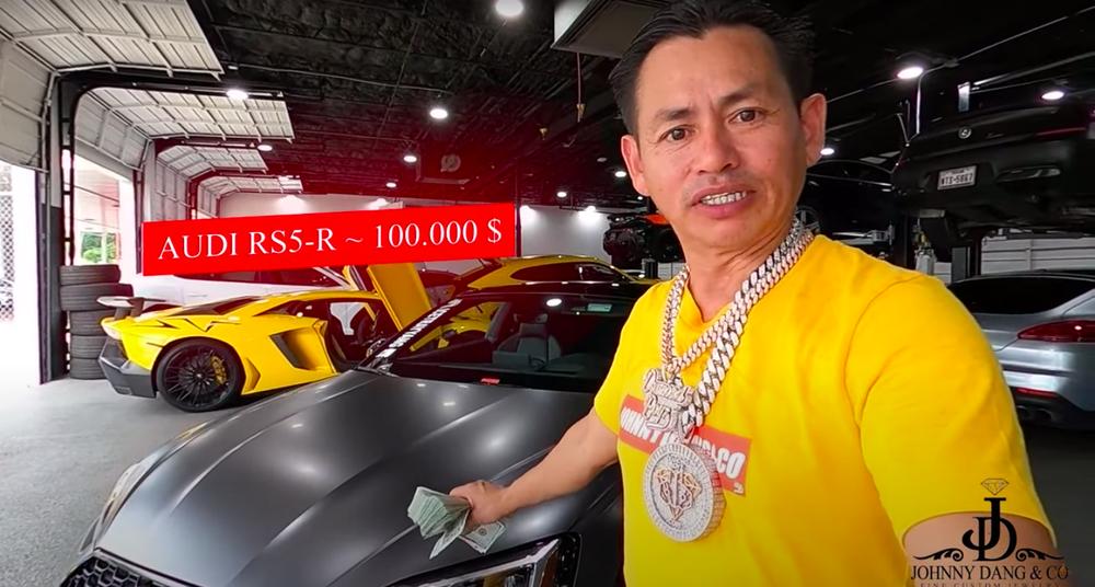 Tỷ phú Johnny Đặng chứng minh độ giàu có, tặng thưởng răng kim cương, 30 ngàn đô và siêu xe hơn 2 tỷ - Ảnh 1.