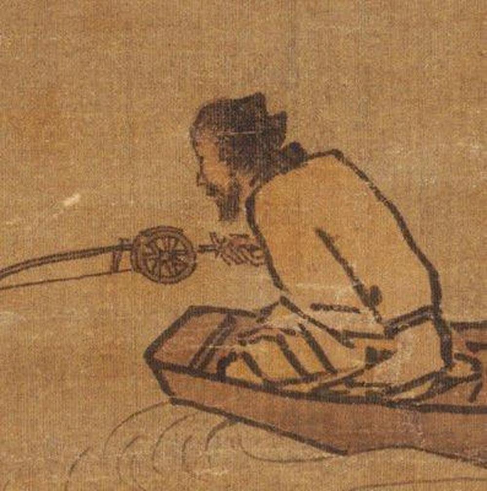 Phóng to 10 lần bức tranh của danh họa đời Tống, nhìn vào chiếc cần câu, hậu thế giật mình kinh ngạc - Ảnh 4.