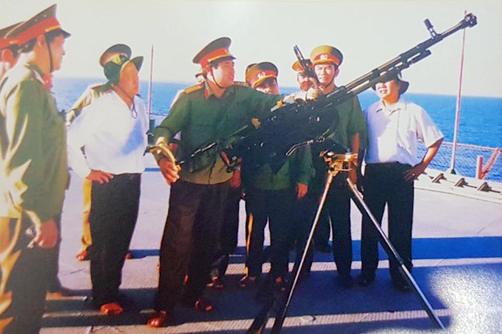 Đại tướng Phùng Quang Thanh: Cả đời tâm huyết với biển, đảo - Hiện đại hóa hải quân - Ảnh 3.