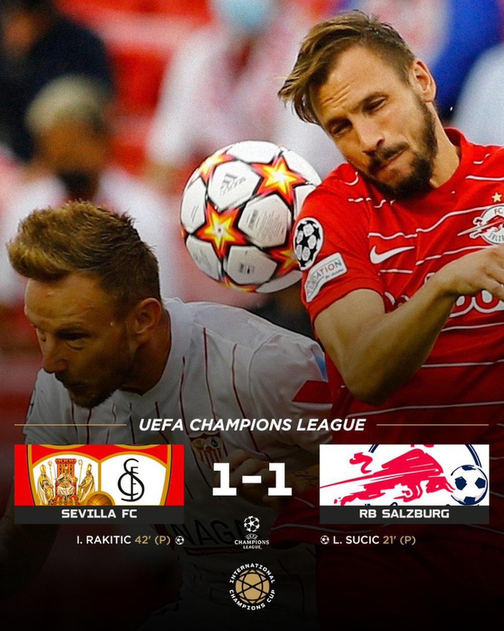Sevilla chia điểm trong trận cầu lịch sử với 4 quả phạt đền chỉ trong hiệp một - Ảnh 1.