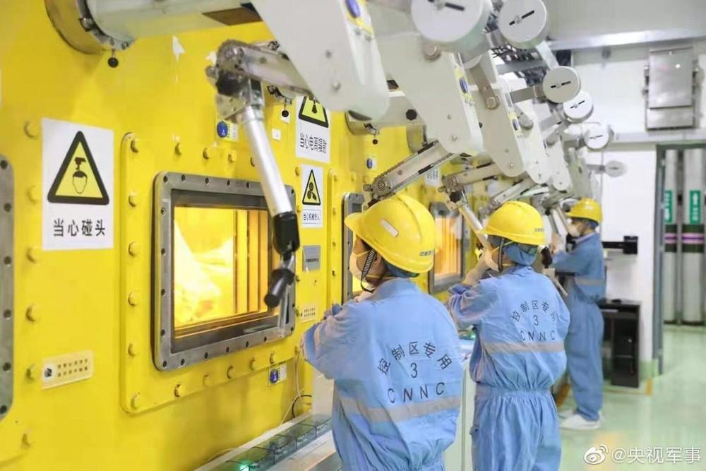 Nhà máy biến chất thải hạt nhân thành thủy tinh đầu tiên tại Trung Quốc sử dụng công nghệ hiện đại cỡ nào? - Ảnh 1.