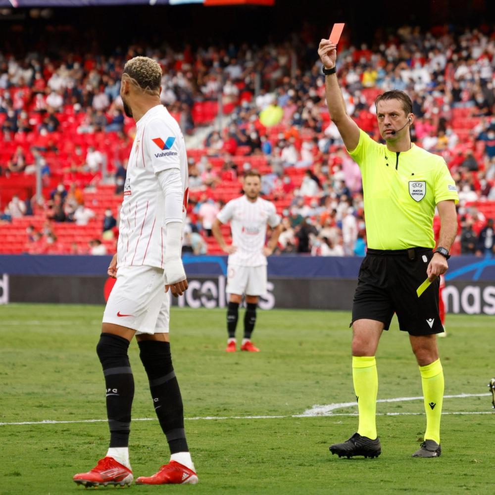 Sevilla chia điểm trong trận cầu lịch sử với 4 quả phạt đền chỉ trong hiệp một - Ảnh 7.