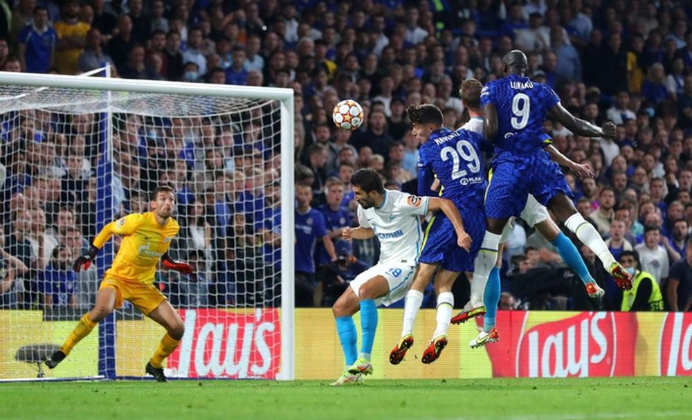 Lukaku ghi bàn thứ 14 trong 14 trận giúp Chelsea khởi đầu thắng lợi tại Champions League 2021/22 - Ảnh 8.