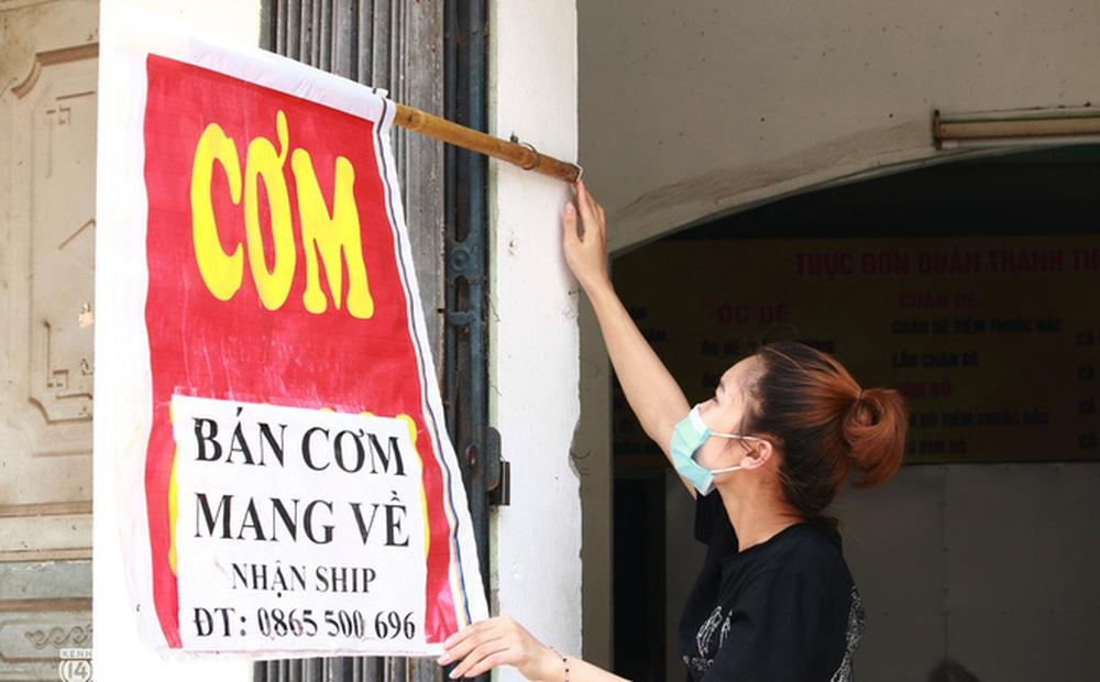 Hà Nội: Các quận, huyện cụ thể đáp ứng yêu cầu được mở hàng ăn uống bán mang về từ 12h ngày 16/9