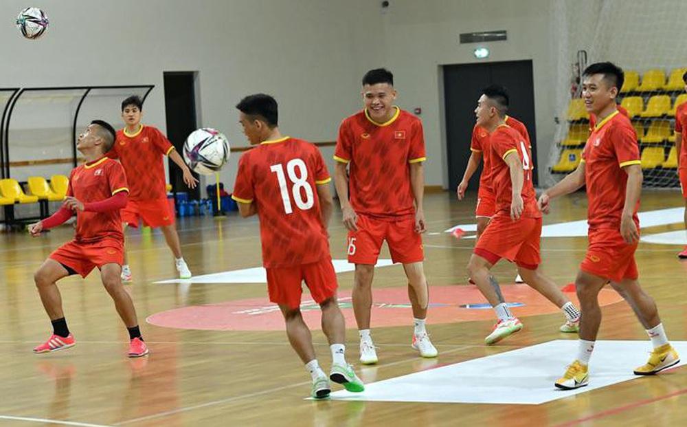 Đội tuyển Futsal Việt Nam đặt mục tiêu thắng Panama tại World Cup