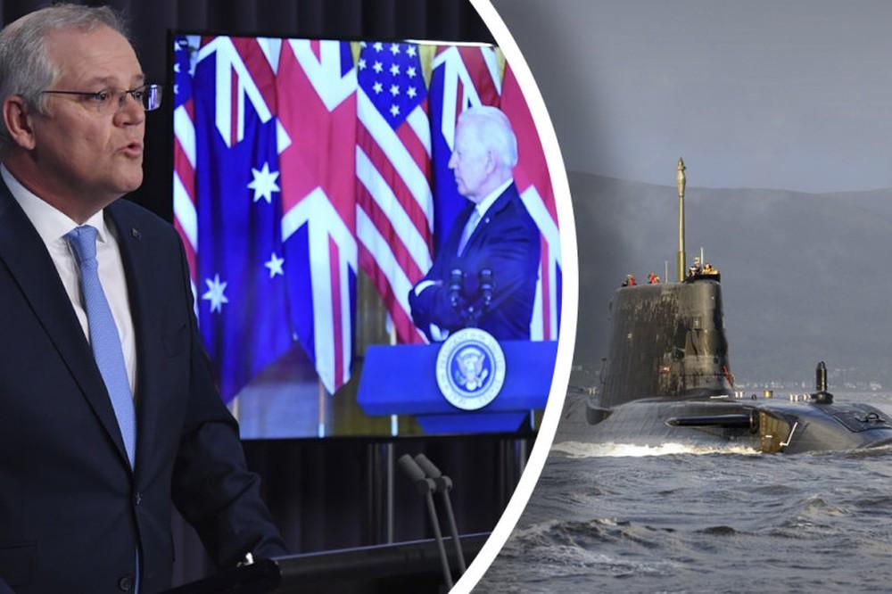 Mỹ-Anh-Úc đánh hội đồng Trung Quốc: ít nhất 8 tàu ngầm hạt nhân và rất nhiều tên lửa Tomahawk! - Ảnh 2.