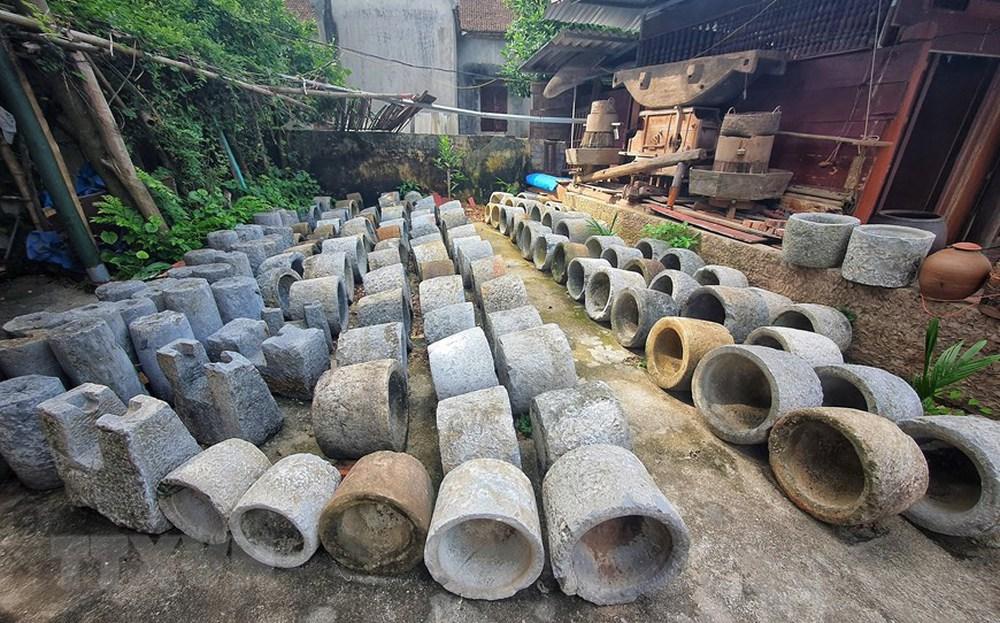 [Photo] Ngắm bộ sưu tập 600 cối đá có lịch sử hàng trăm, nghìn năm - Ảnh 1.