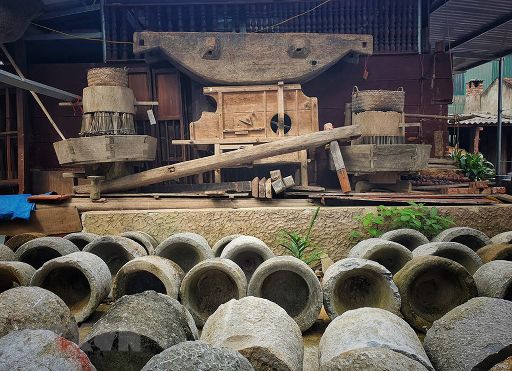 [Photo] Ngắm bộ sưu tập 600 cối đá có lịch sử hàng trăm, nghìn năm - Ảnh 3.