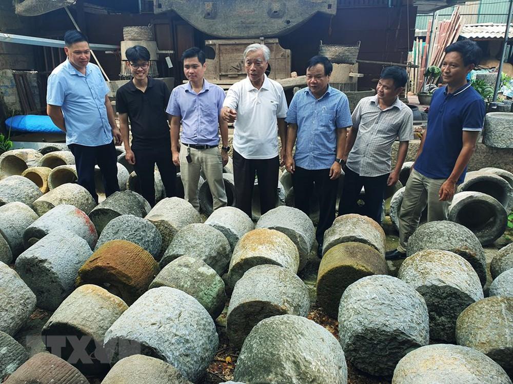 [Photo] Ngắm bộ sưu tập 600 cối đá có lịch sử hàng trăm, nghìn năm - Ảnh 5.