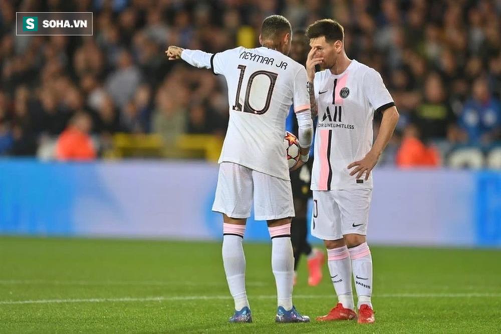 Messi gục mặt trong ngày phải đá cặp cùng cựu thù, chứng kiến cựu sao Man United ghi bàn - Ảnh 1.