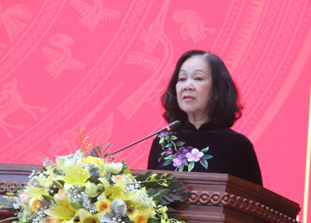 Trung tướng Trần Hồng Minh giữ chức Bí thư Tỉnh ủy Cao Bằng - Ảnh 1.