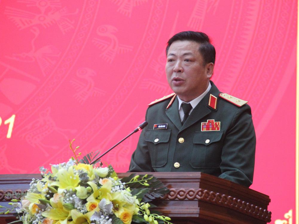 Trung tướng Trần Hồng Minh giữ chức Bí thư Tỉnh ủy Cao Bằng - Ảnh 2.