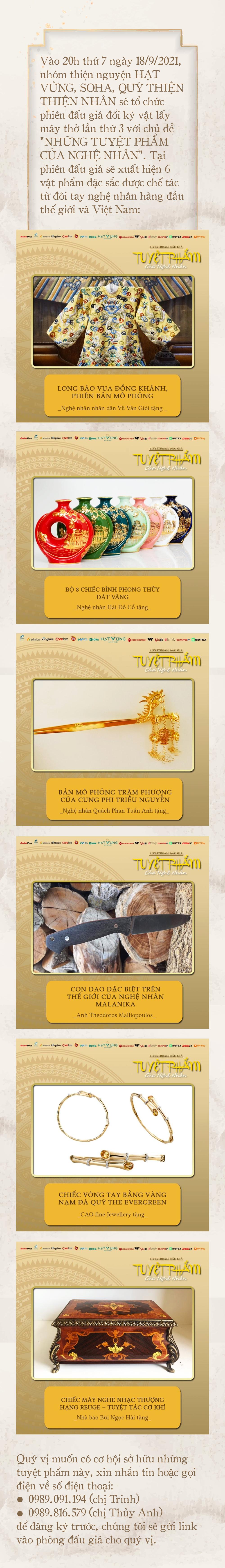 'Phù thủy' của những chiếc áo trăm triệu duy nhất Việt Nam: Áo vua mặc thế nào tôi thêu đúng như thế, chuẩn đến từng milimet - Ảnh 13.