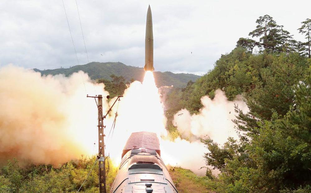 Trình độ công nghệ Triều Tiên đã cho phép bắn tên lửa đạn đạo từ tàu hỏa