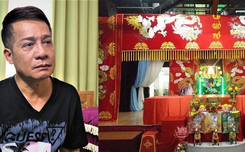 """Giỗ Tổ nghề sân khấu ở Sài Gòn: """"Cúng Tổ một hộp bánh cũng được. Ông Tổ sẽ thông cảm"""""""