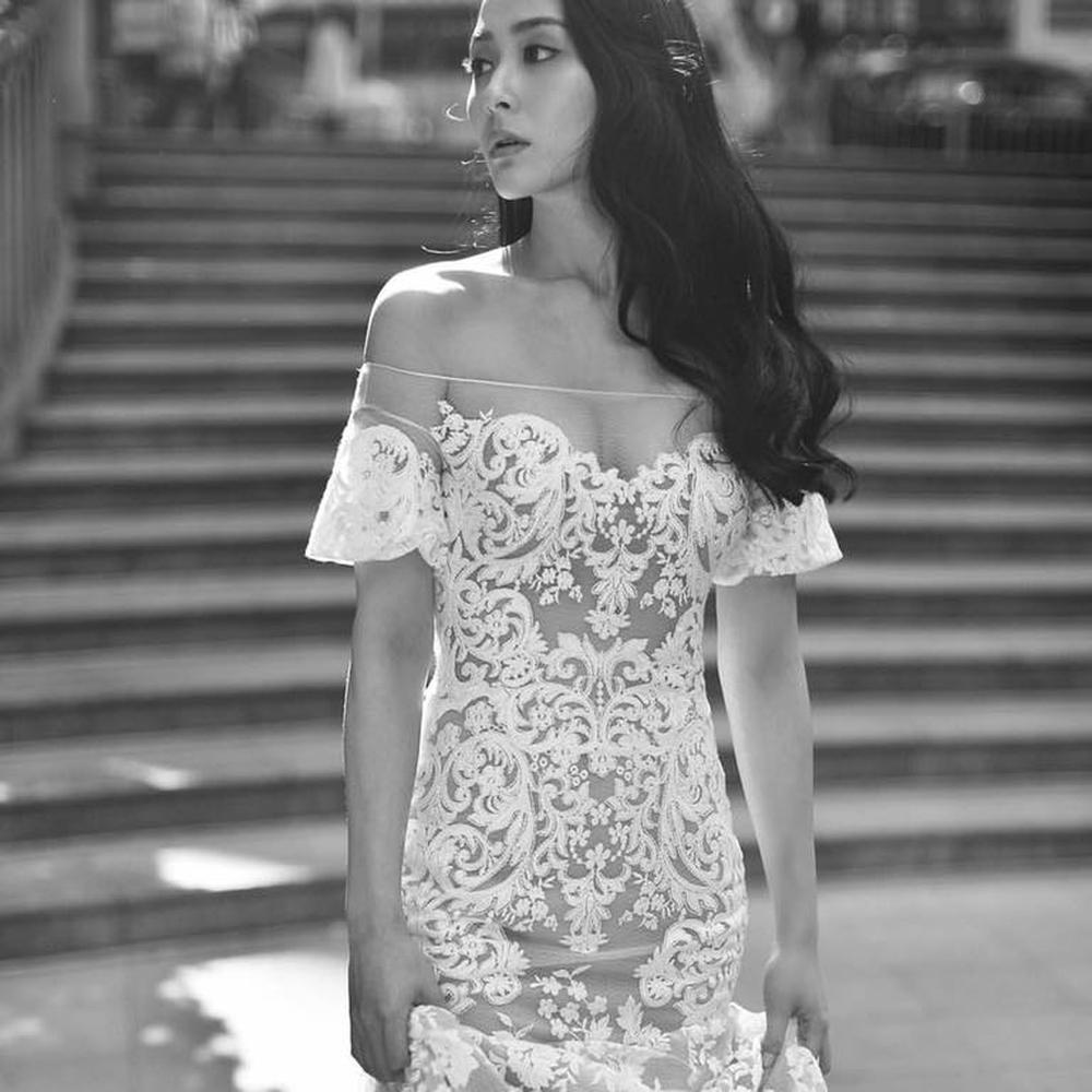 Nhan sắc gợi cảm của mỹ nữ gốc Việt đăng quang tại Hoa hậu Hong Kong 2021 - Ảnh 3.