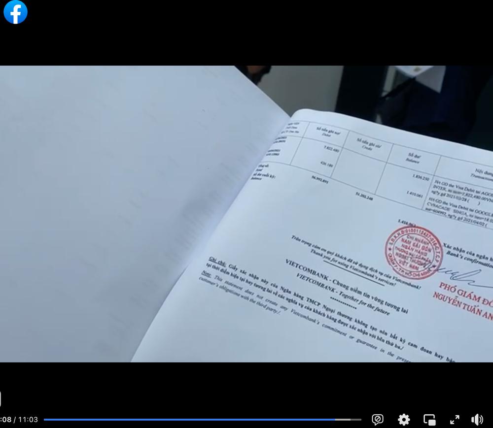 """Công Vinh tung sao kê tài khoản bị """"bóc phốt"""" trên MXH: Chuyên dùng để… đi chợ - Ảnh 4."""