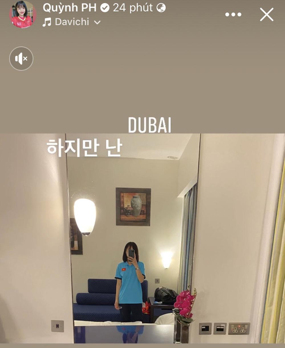 Tuyển nữ Việt Nam hào hứng khi đặt chân đến Dubai - Ảnh 2.