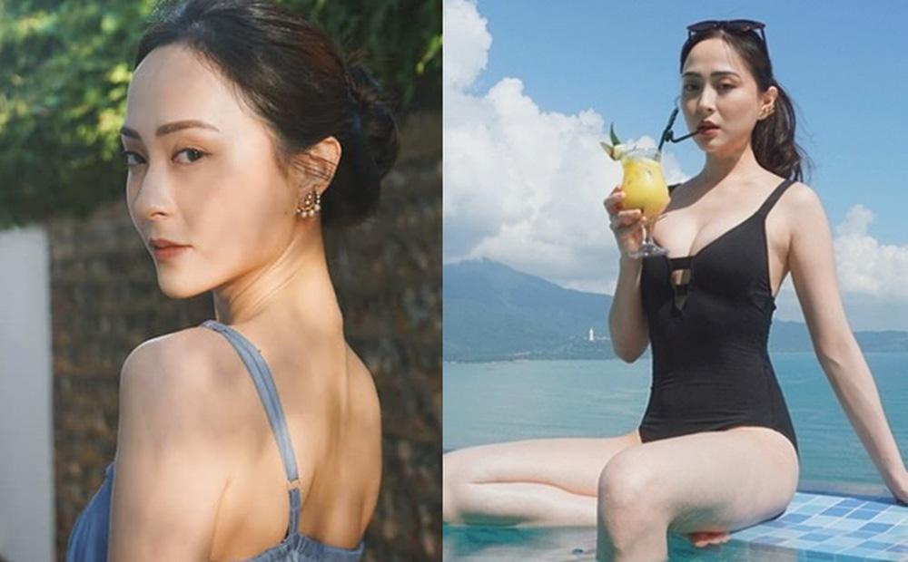 Nhan sắc gợi cảm của mỹ nữ gốc Việt đăng quang tại cuộc thi Hoa hậu lừng lẫy nhất Hong Kong