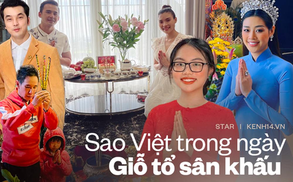 Showbiz Việt ngày Giỗ tổ sân khấu: Lý Hải - Khánh Vân và dàn sao Việt dâng lễ tại gia, Nam Thư muốn khóc vì tủi thân