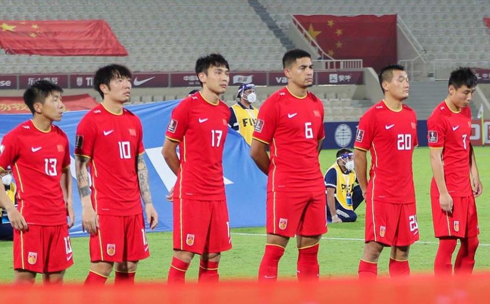 """ĐT Trung Quốc nhận trái đắng, chỉ được giao hữu với """"quân xanh rởm"""" trước trận gặp Việt Nam"""