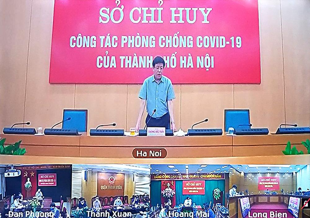 Phó Chủ tịch Hà Nội: Sẽ tiếp tục duy trì 23 chốt kiểm soát cửa ngõ ra, vào thành phố - Ảnh 1.