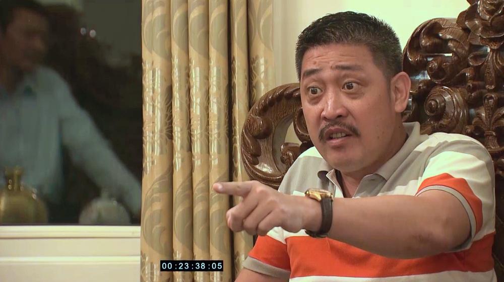 Lão Tấn dọa ông Sinh trong Hương vị tình thân tập 38 phần 2: Nếu muốn con gái yên ổn, mày nên chết đi - Ảnh 4.