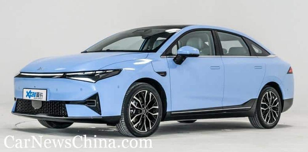 Phát sốt với mẫu ô tô điện mới ngập công nghệ, no pin đi 600 km, giá ngang VinFast VF e34 - Ảnh 1.