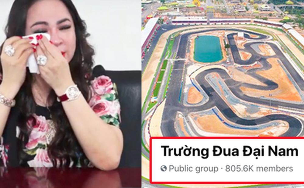 Xuất hiện nhóm Facebook Trường đua Đại Nam của bà Phương Hằng có hơn 800k thành viên, nguồn gốc hết sức phẫn nộ!