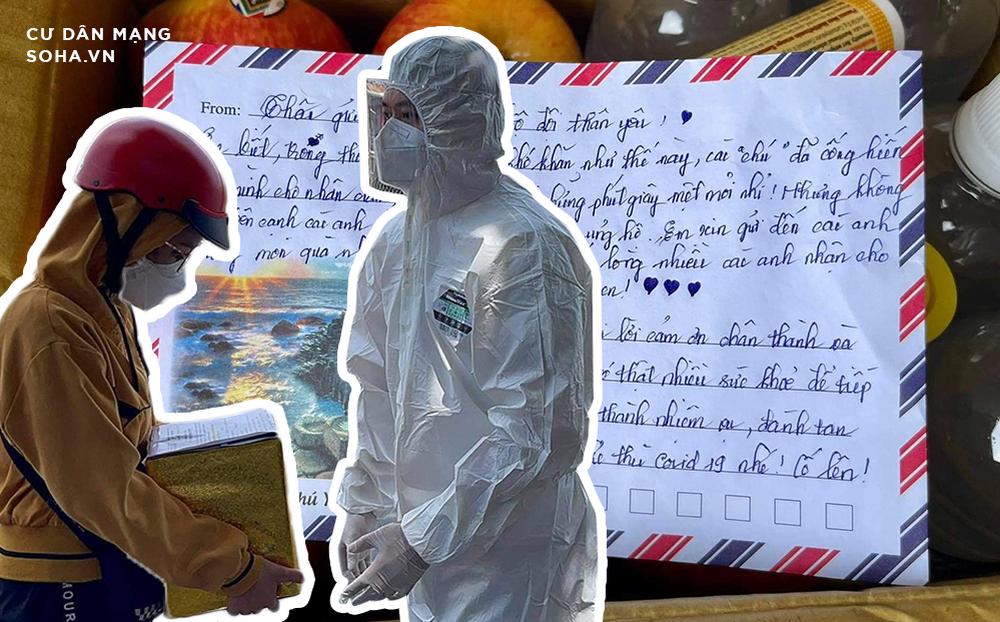 Giao tro cốt người cha mắc Covid-19 về gia đình, anh bộ đội rưng rưng vì bức thư giấu trong hộp quà