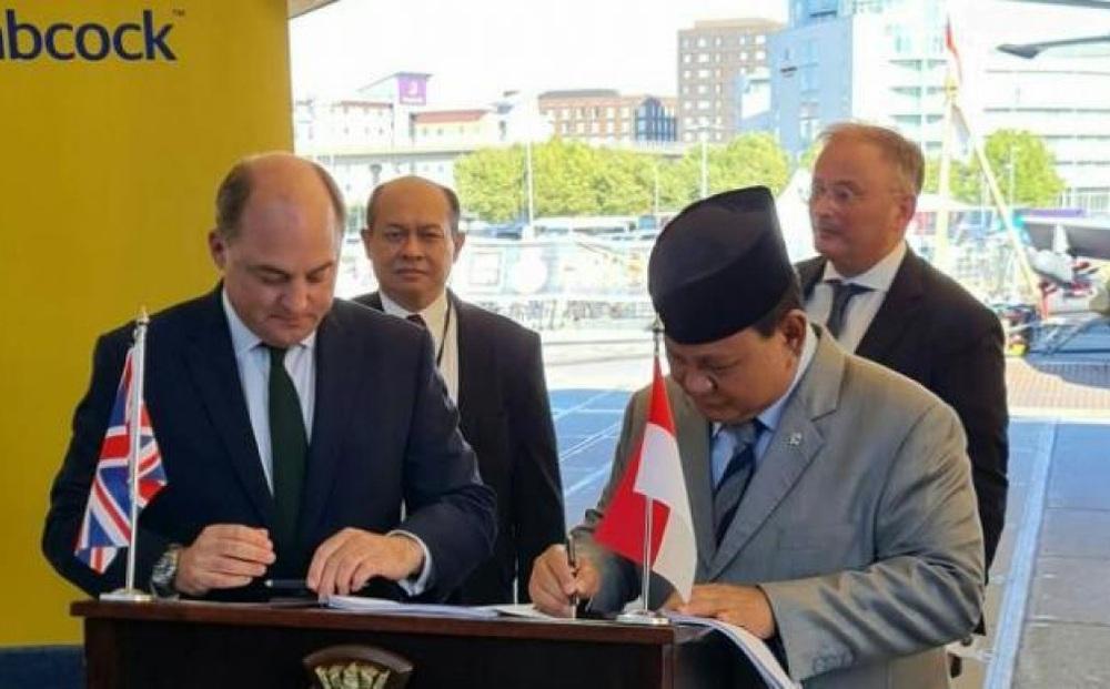 Anh hỗ trợ Indonesia đóng khinh hạm đối phó với tàu Trung Quốc ở Biển Đông