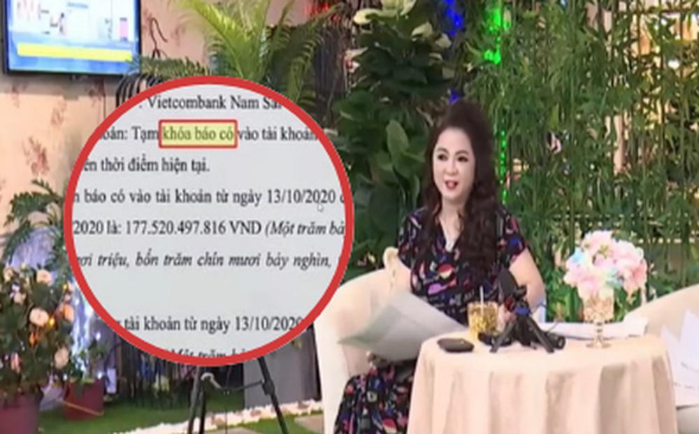 Bà Phương Hằng chính thức quay trở lại sau 1 tuần tuyên bố dừng livestream, nhắc đến thuật ngữ 'tạm khóa báo có'