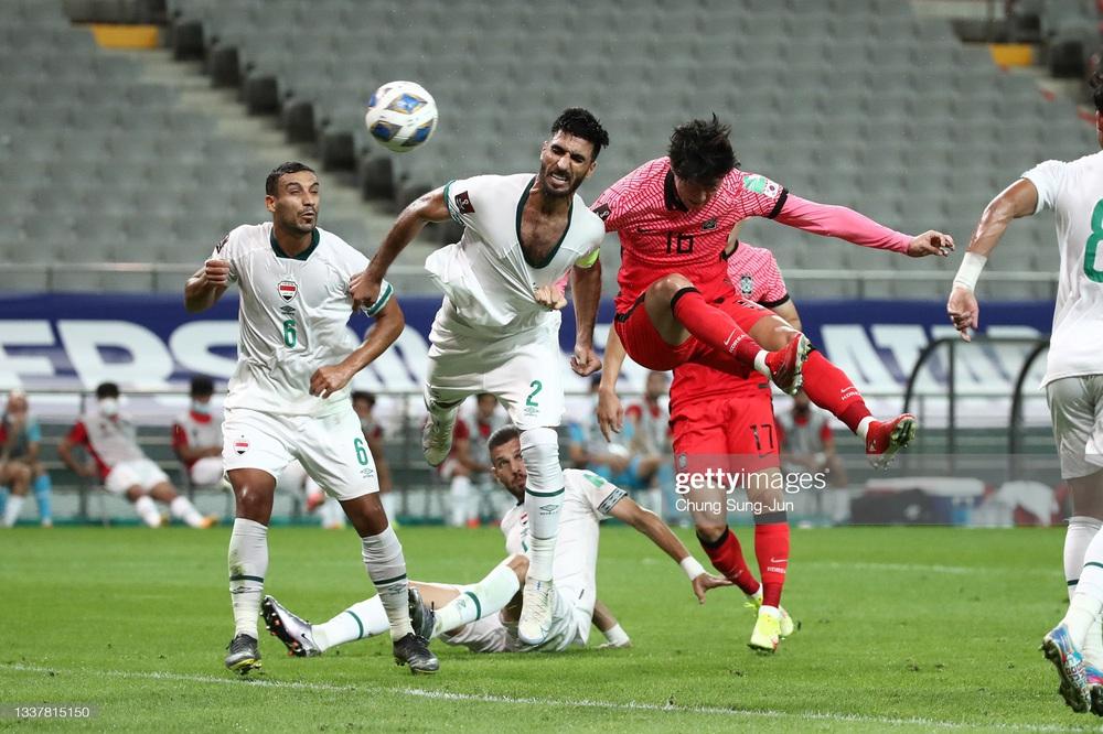 Kết quả Hàn Quốc vs Iraq: Son Heung-min mờ nhạt, đội tuyển Hàn Quốc gây thất vọng lớn - Ảnh 3.
