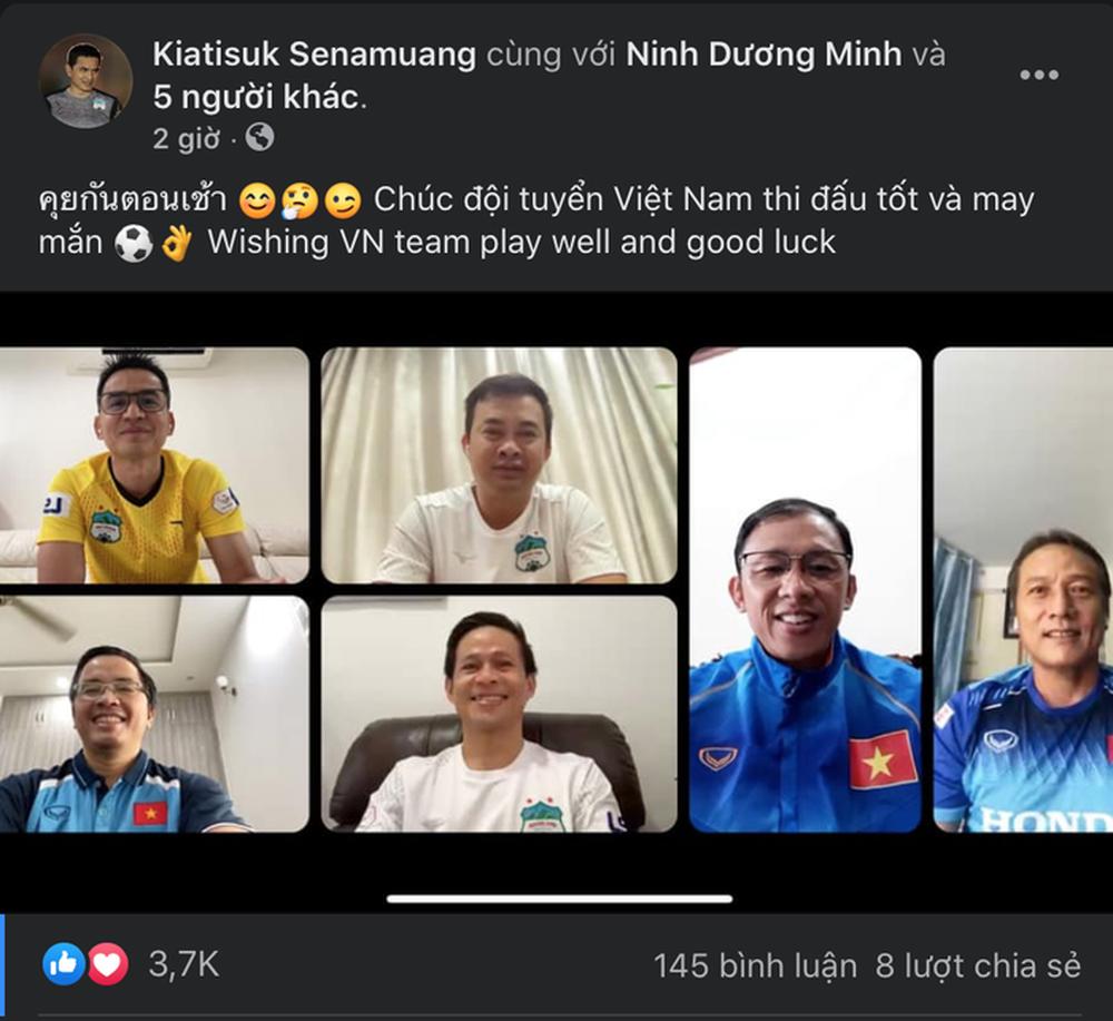 HLV Kiatisak gửi lời chúc đến đội tuyển Việt Nam - Ảnh 1.