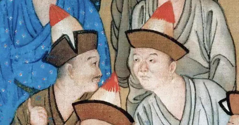 Phóng to 10 lần tranh vẽ bữa tiệc của Càn Long, cư dân mạng Trung Quốc không tin vào mắt mình: Thật là to gan! - Ảnh 4.