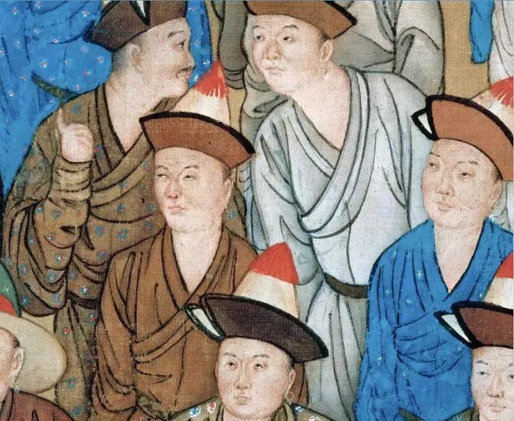 Phóng to 10 lần tranh vẽ bữa tiệc của Càn Long, cư dân mạng Trung Quốc không tin vào mắt mình: Thật là to gan! - Ảnh 5.