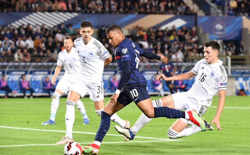 Pháp 1-1 Bosnia: Thiếu và yếu