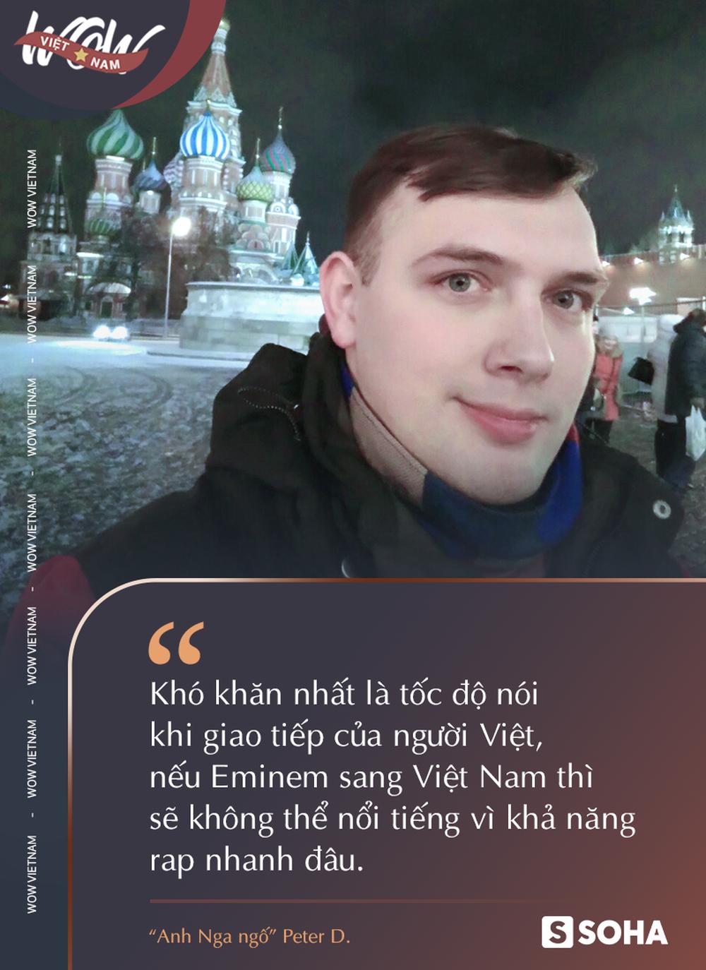 Anh Nga ngố: Eminem mà sang Việt Nam thì cũng thua nem gián, còn cái nịt - Ảnh 2.