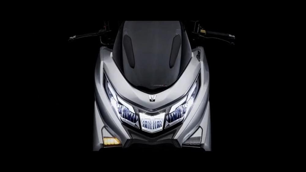 Xe máy Tàu phủ cả đống công nghệ sắp về đại lý, không ngán vua xe ga Honda SH  - Ảnh 2.