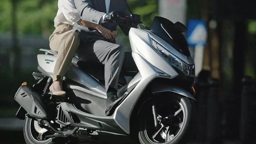 Xe máy Tàu phủ cả đống công nghệ sắp về đại lý, không ngán vua xe ga Honda SH  - Ảnh 6.