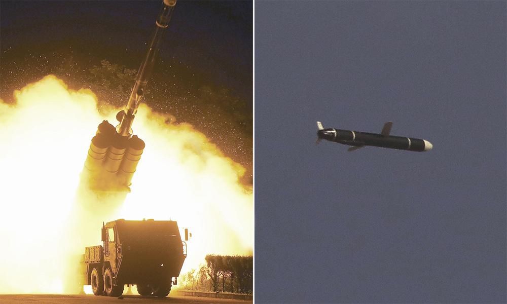 Bất ngờ công nghệ từ tên lửa hành trình mới của Triều Tiên: Vượt qua Iran, tiệm cận Mỹ! - Ảnh 1.