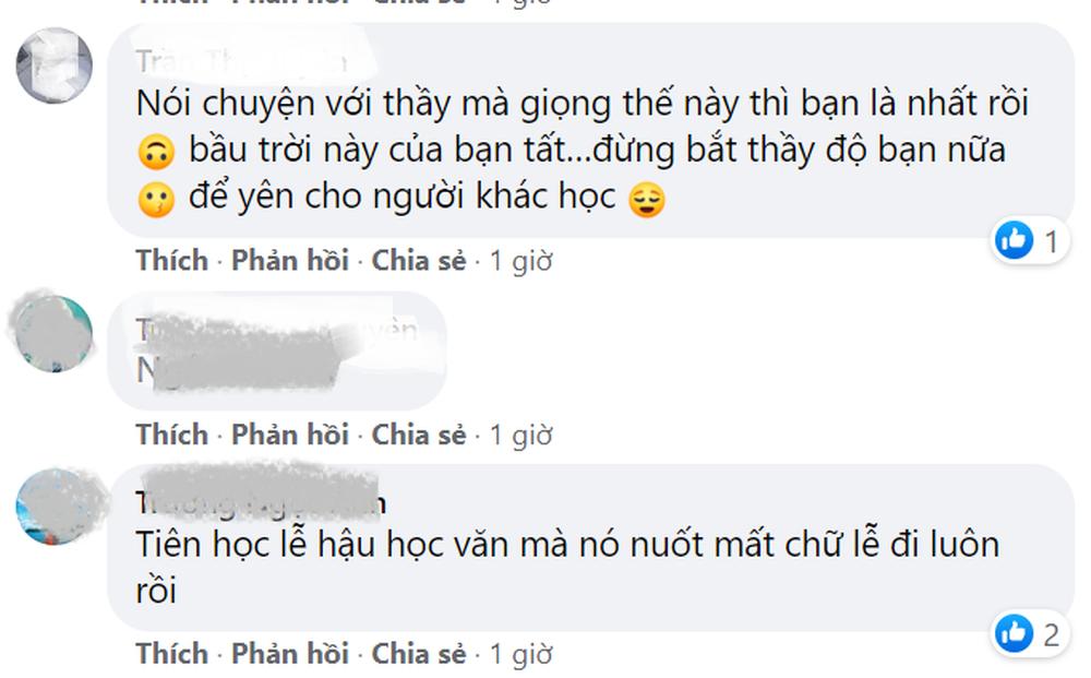 Vụ nam sinh văng tục, thách thức solo với thầy trong buổi học online: Sinh viên lớp võ Vovinam của một trường Cao Đẳng - Ảnh 3.