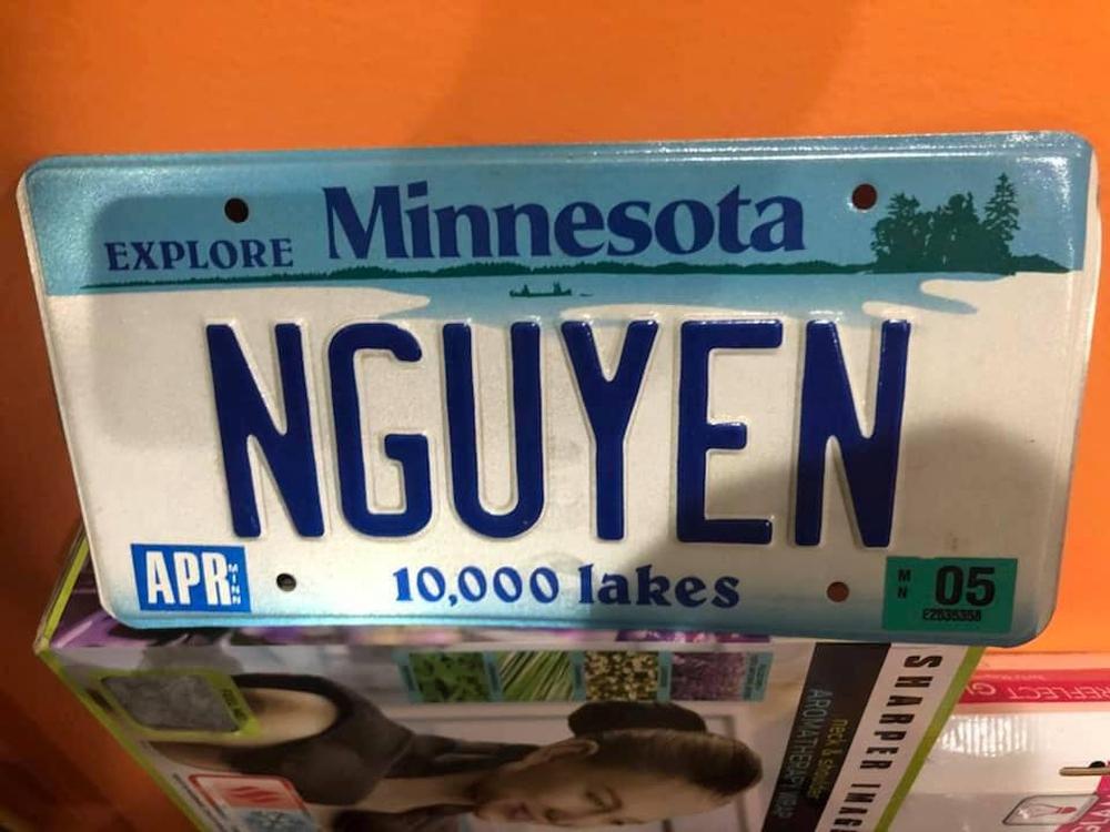 Khóc dở cười dở trước 1001 cách đặt biển số xe của người Việt tại Mỹ - Có người rất yêu trái mướp đắng? - Ảnh 6.
