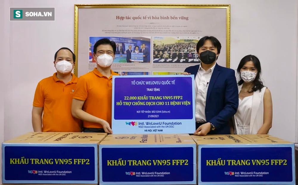 Khẩn cấp gửi khẩu trang hỗ trợ các bệnh viện chống dịch