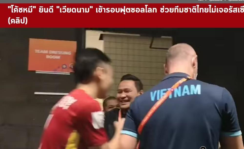 HLV Thái Lan hồ hởi chúc mừng tuyển Việt Nam là bởi Việt Nam giúp Thái Lan tránh được Nga? - Ảnh 2.