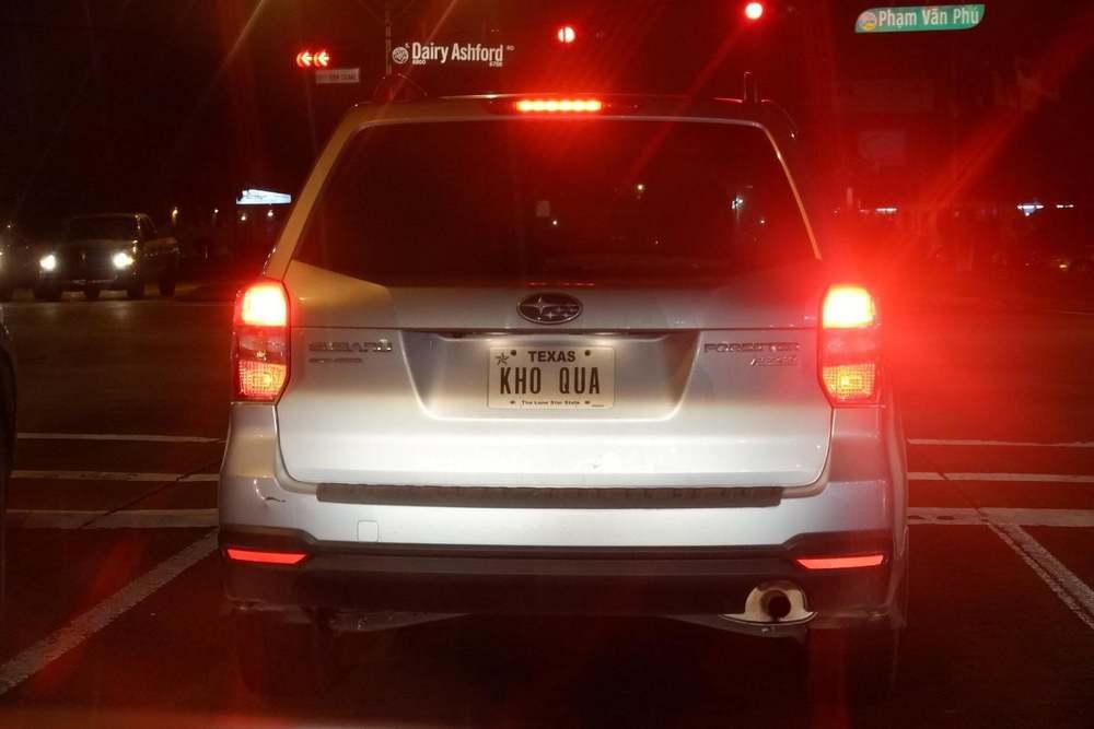 Khóc dở cười dở trước 1001 cách đặt biển số xe của người Việt tại Mỹ - Có người rất yêu trái mướp đắng? - Ảnh 3.