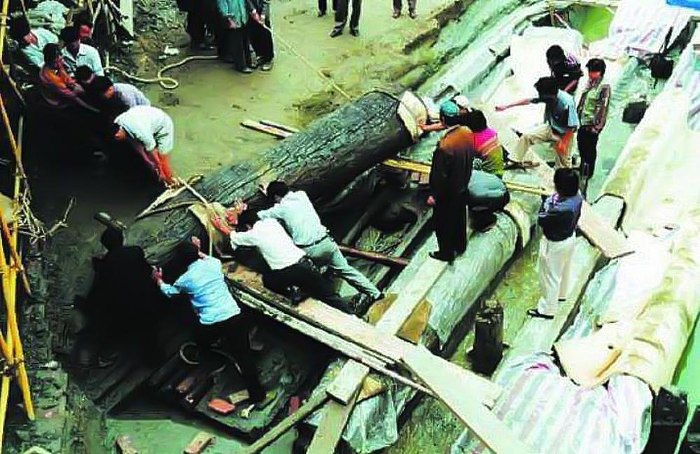 Quan tài kỳ lạ lạc trôi ở Thành Đô, toàn bộ được làm từ một loại gỗ thượng hạng khiến chuyên gia dậy sóng - Ảnh 1.